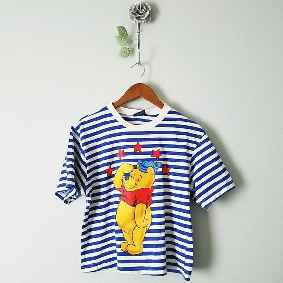 0f309e9a Disney Tops - 🍃 Winnie the Pooh   Disney T-shirt Crop Top
